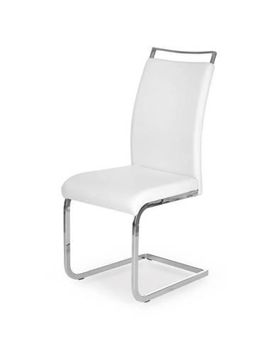 K250 jedálenská stolička biela
