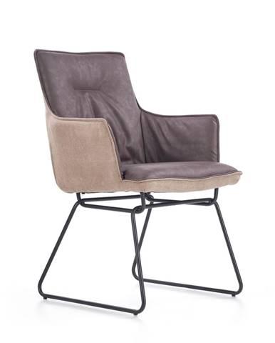 K271 jedálenská stolička tmavosivá