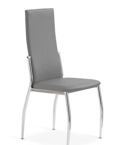 K3 jedálenská stolička sivá