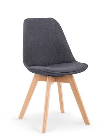 K303 jedálenská stolička tmavosivá