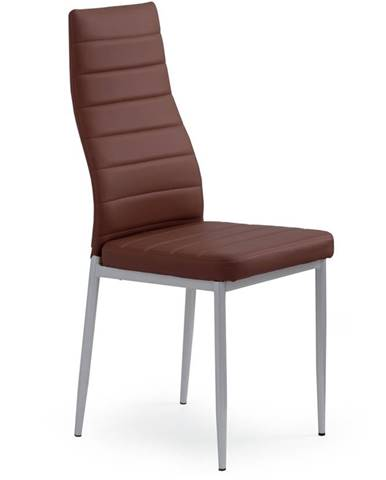 K70 jedálenská stolička tmavohnedá