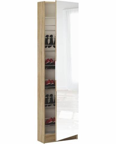 Kapater 305097 botník (skrinka na topánky) dub sonoma