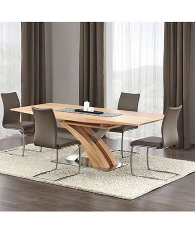 Sandor rozkladací jedálenský stôl dub zlatý