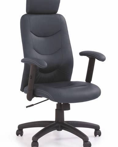 Stilo kancelárske kreslo s podrúčkami čierna