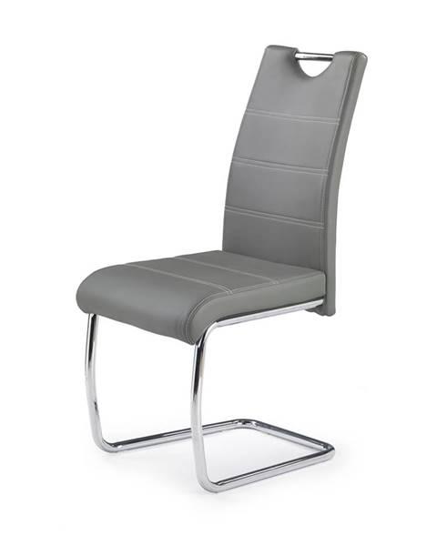 Halmar K211 jedálenská stolička sivá