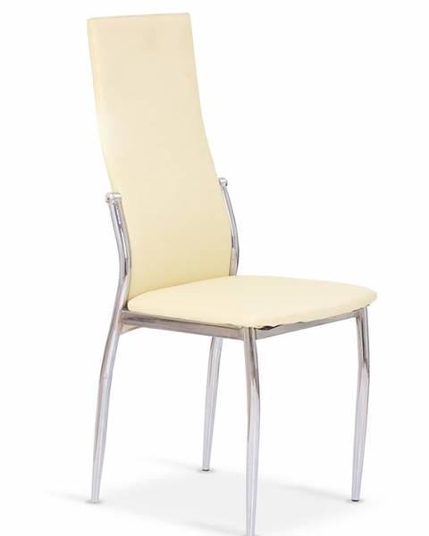 Halmar K3 jedálenská stolička vanilková