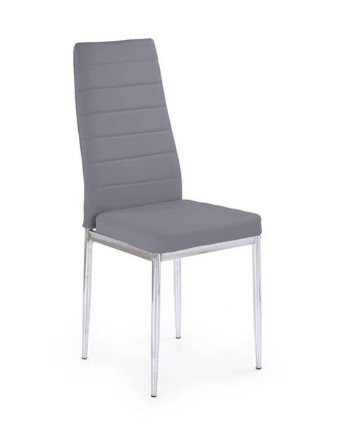 Halmar K70C jedálenská stolička sivá