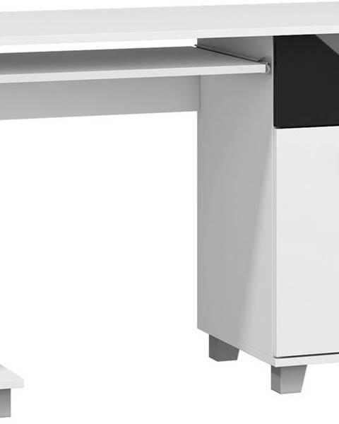 MEBLOCROSS Solo pc stolík biela