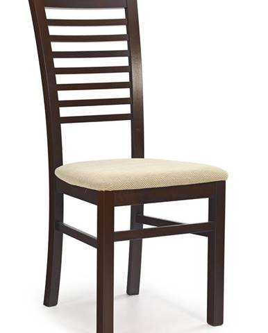 Gerard 6 jedálenská stolička tmavý orech