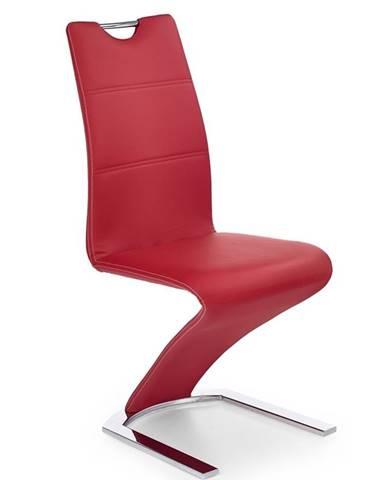 K188 jedálenská stolička červená