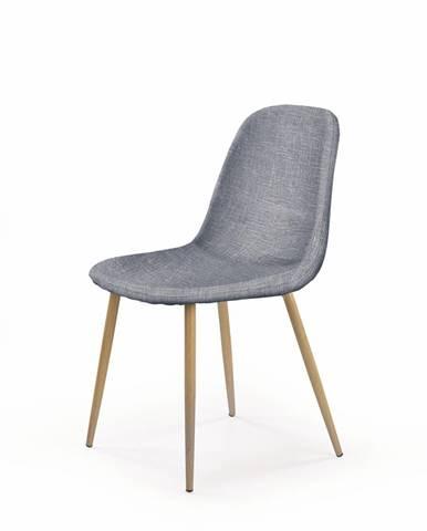 K220 jedálenská stolička sivá