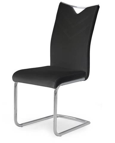 K224 jedálenská stolička čierna