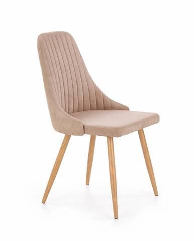 K285 jedálenská stolička béžová