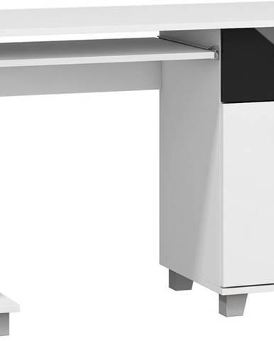 Solo pc stolík biela