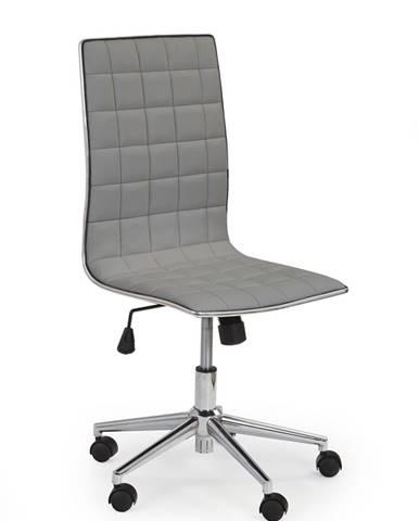 Tirol kancelárska stolička sivá