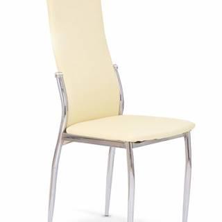 K3 jedálenská stolička vanilková