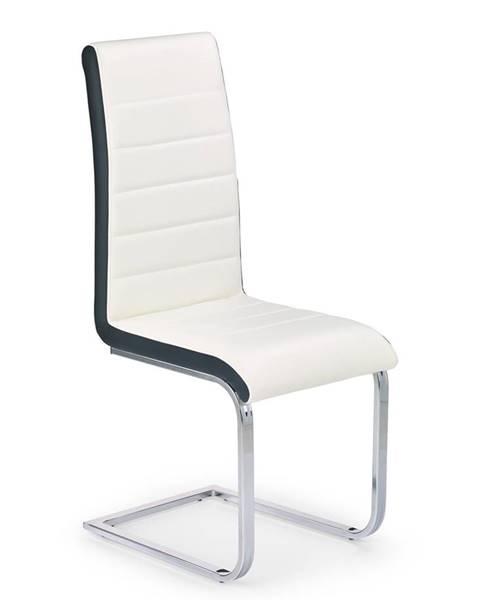 Halmar K132 jedálenská stolička biela