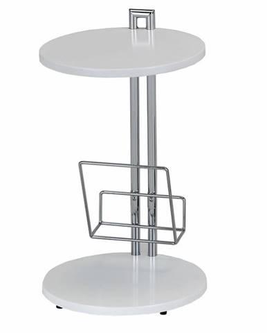 Anabel príručný stolík biela