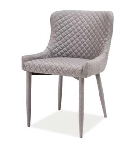 Colin jedálenská stolička sivá