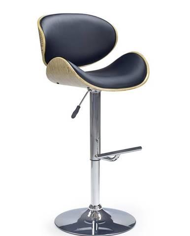 H-44 barová stolička dub svetlý