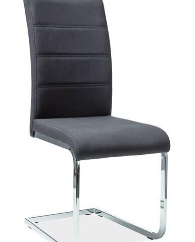 H-441 jedálenská stolička čierna