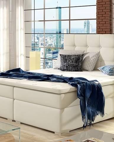 Isola 140 čalúnená manželská posteľ béžová