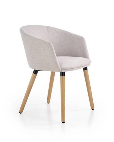 K266 jedálenská stolička béžová