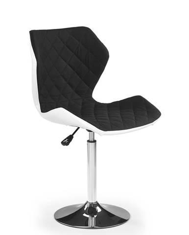Matrix 2 barová stolička čierna