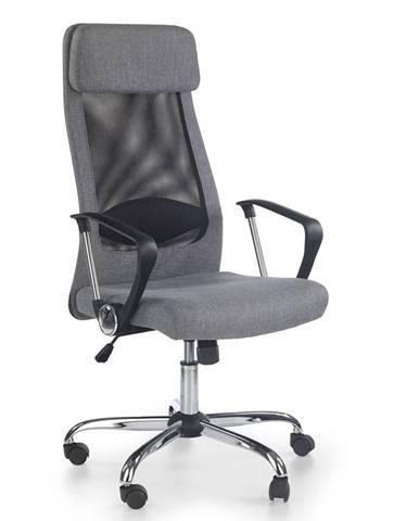Zoom kancelárska stolička s podrúčkami čierna