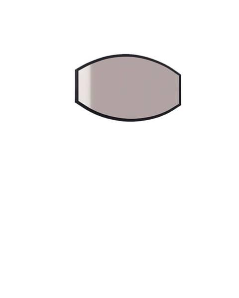 TARANKO Grande GR-L1 zrkadlo na stenu čierna