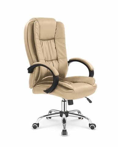 Relax kancelárske kreslo s podrúčkami béžová