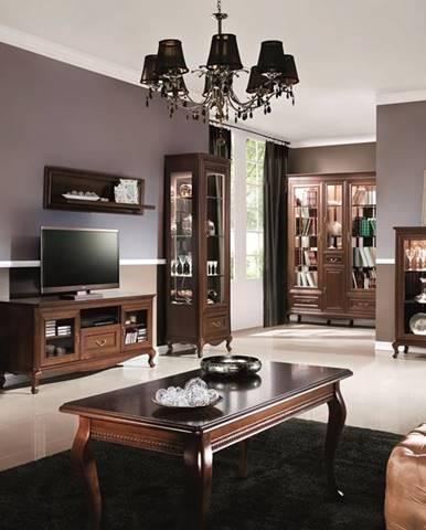 Verona rustikálna obývacia izba hnedá