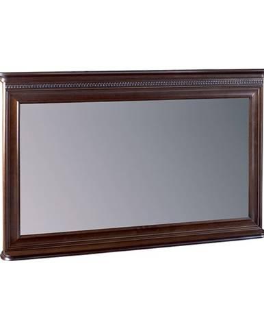 Verona V-L1 rustikálne zrkadlo na stenu hnedá