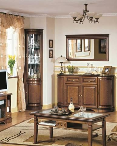Zefir rustikálna obývacia izba toffi