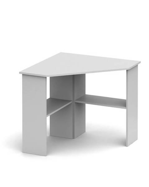Tempo Kondela Rony New rohový pc stolík biela