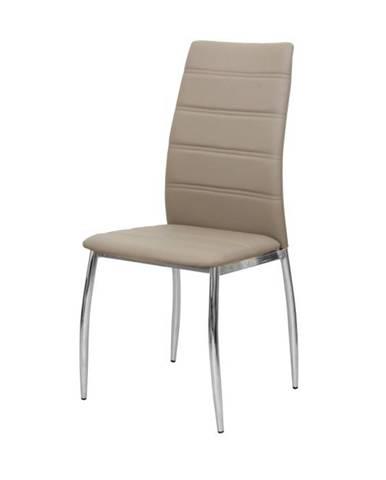 Dela jedálenská stolička hnedá