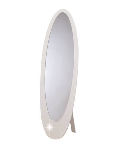Saskia stojace zrkadlo biela