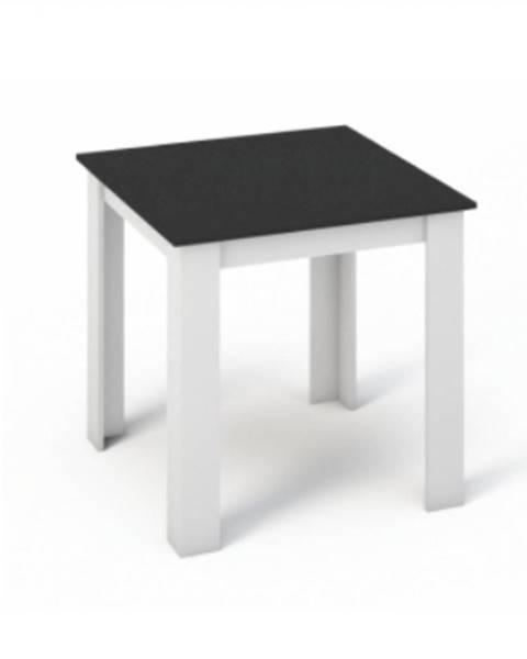 Tempo Kondela Kraz jedálenský stôl 80x80 cm biela