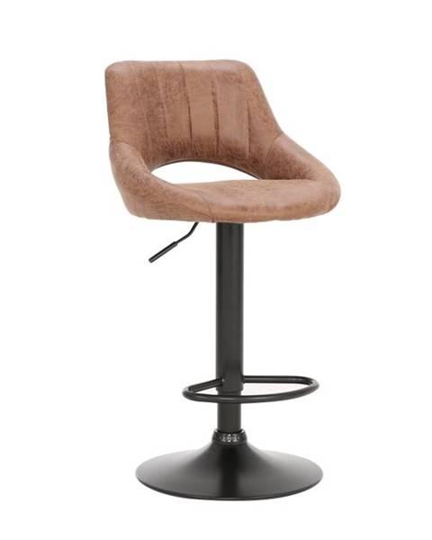 Kondela Lorasa barová stolička hnedá