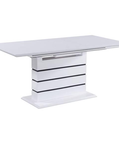 Kondela Medan rozkladací jedálenský stôl biela