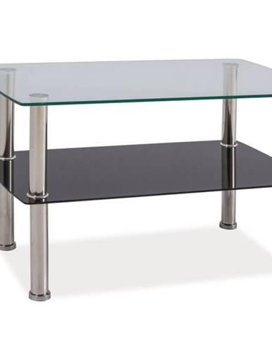 Irene sklenený konferenčný stolík priehľadná