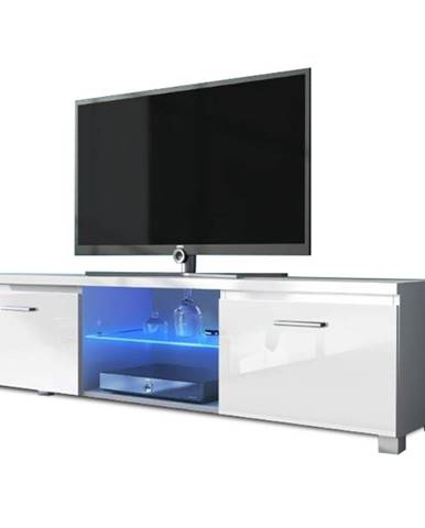 Lugo 2 tv stolík biela