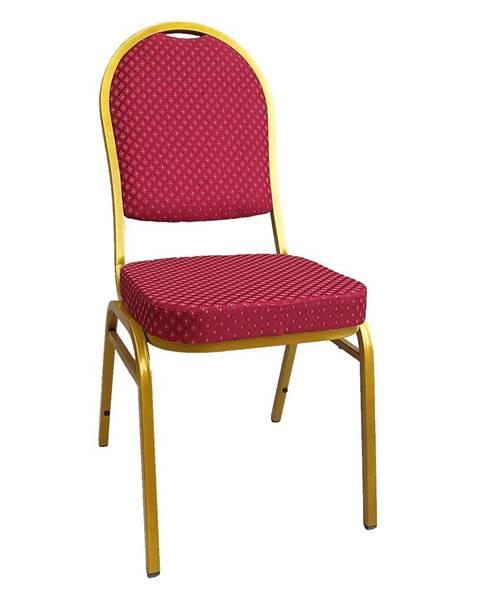 Kondela Jeff 3 New konferenčná stolička červená