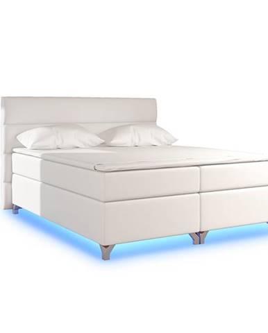 Avellino 160 čalúnená manželská posteľ s úložným priestorom béžová (Soft 33)