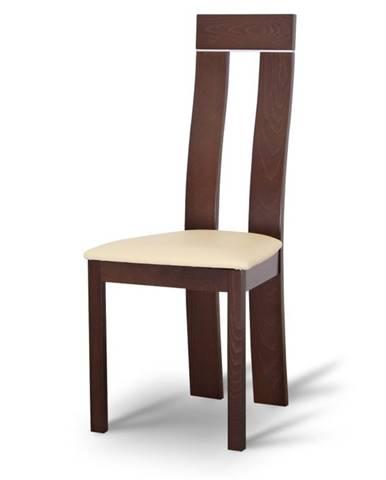 Desi jedálenská stolička orech