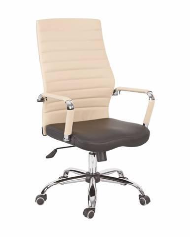 Drugi Typ 1 kancelárske kreslo s podrúčkami béžová