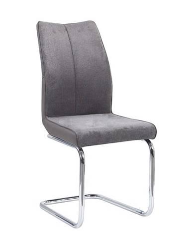 Farula jedálenská stolička sivohnedá taupe