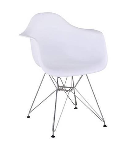 Feman 3 New jedálenská stolička biela