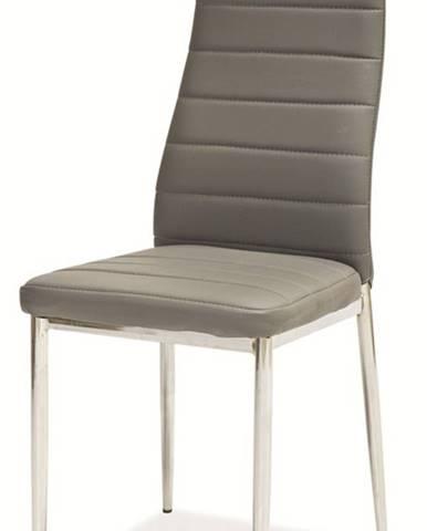 H-261 jedálenská stolička sivá