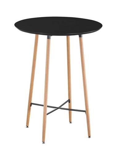 Imam okrúhly barový stôl čierna